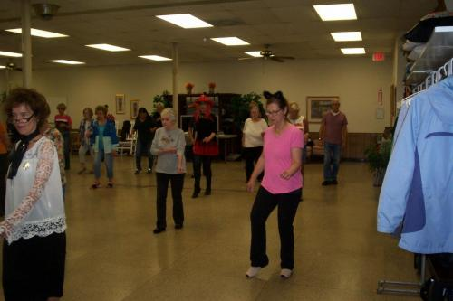 line dance class halloween 10-30-18 001