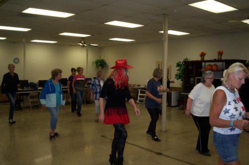 line dance class halloween 10-30-18 004